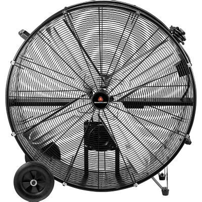tractor supply shop fans countyline portable barrel fan 36 in thoughtshots