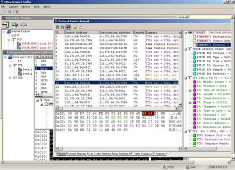 how to a sniffer file extension npd ultra network sniffer captured packet