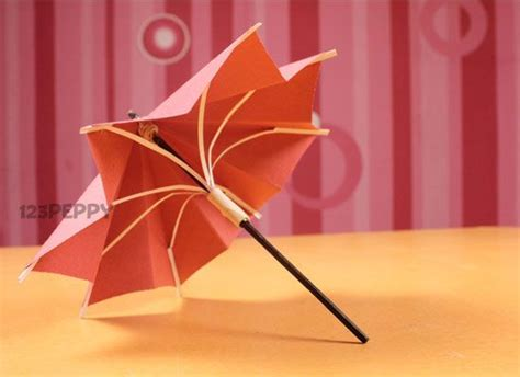 Make A Paper Umbrella - the world s catalog of ideas