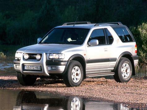 opel frontera 4x4 opel frontera b sport 2 2 dti 115 hp 4x4