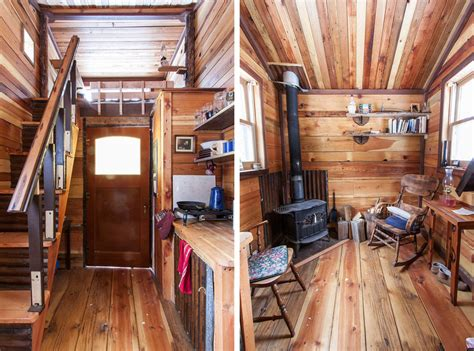 tiny homes interior potomac cabin tiny house swoon