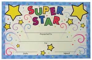super star recognition certificate u s supply