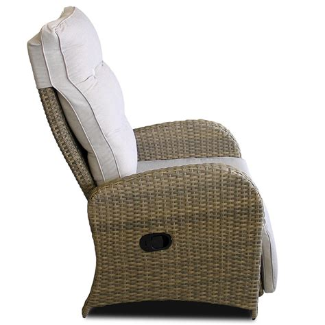 garten relaxsessel poly rattan sessel mit fu 223 teil graubeige auflage grau