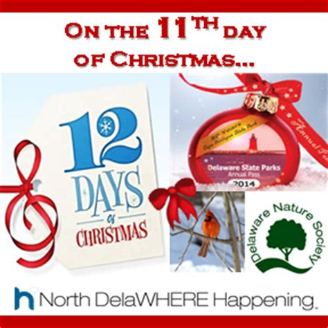 on the 11th day of christmas wild delaware