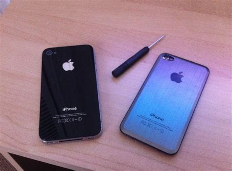 Apple Iphone 4s Back Glass how to replace the back cover of an iphone 4 or iphone 4s