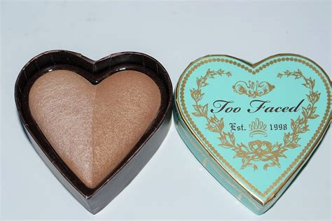 sweetheart faced faced sweethearts bronzer review swatch