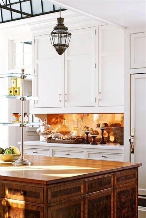 copper kitchen backsplash ideas stunning copper backsplash for modern kitchens