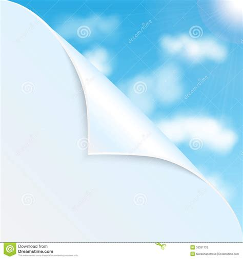 Paper Lotus 20cm Sky Blue eco background stock photography image 35351732