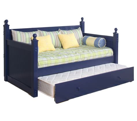 cottage day bed with trundle farmhouse and cottage
