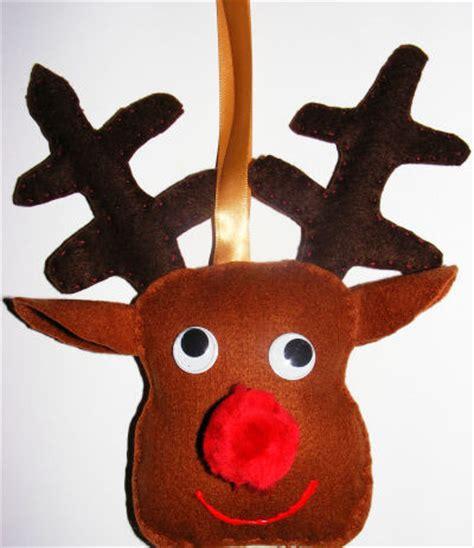 reindeer template activity village reindeer felt softie for kids to make at christmas