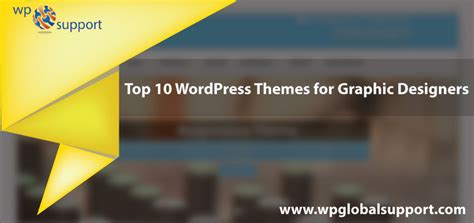 graphic design themes wordpress top 10 wordpress themes for graphic designers