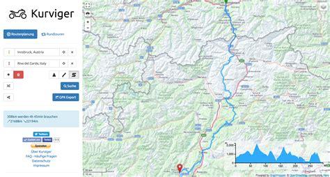 Motorradtouren Online Planen by Routenplanung F 252 R Das Motorrad Mit Kurviger De