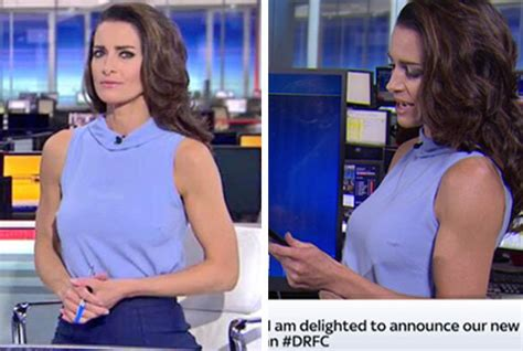News Wardrobe On Live Tv by Sky Sports News Anchor Nips Debate In The Bud