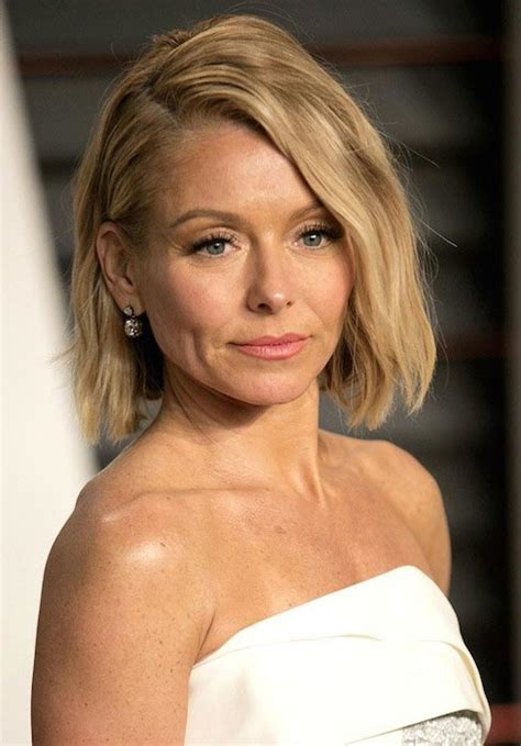 how to get curls like kelly ripa wears kathie lee gifford live haircut hairstylegalleries com