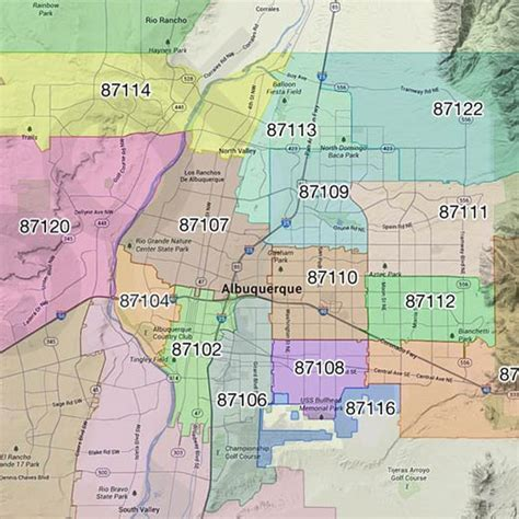 albuquerque zip code map custom mapping service information maptechnica