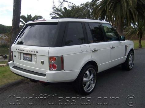 how to fix cars 2005 land rover range rover windshield wipe control 2005 land rover range rover information and photos momentcar