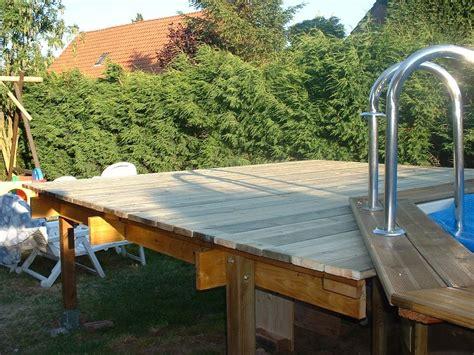 Terrasse Pour Piscine Hors Sol by Bois Pour Piscine Hors Sol Piscine Sur Mesure Idea Mc