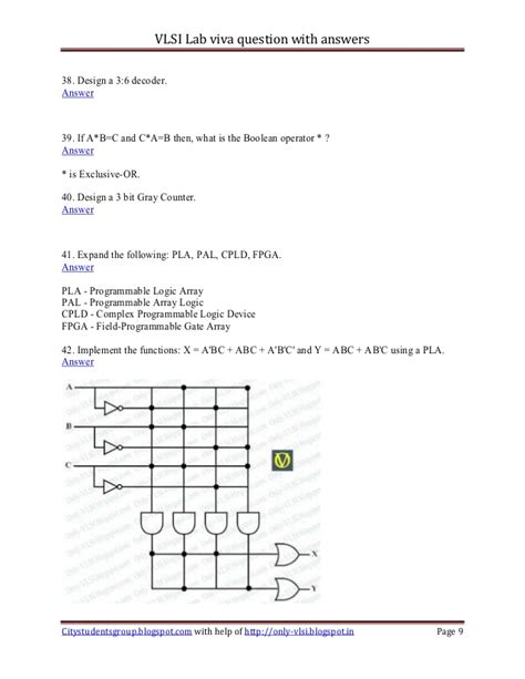 logic design lab questions vlsi lab viva question with answers