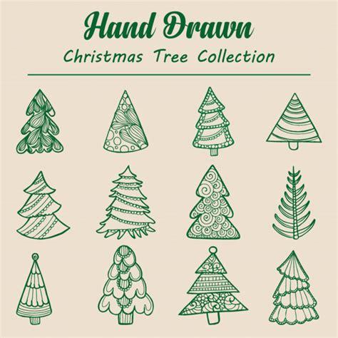 arbol de navidad dibujado colecci 243 n de 225 rbol de navidad dibujado a mano descargar