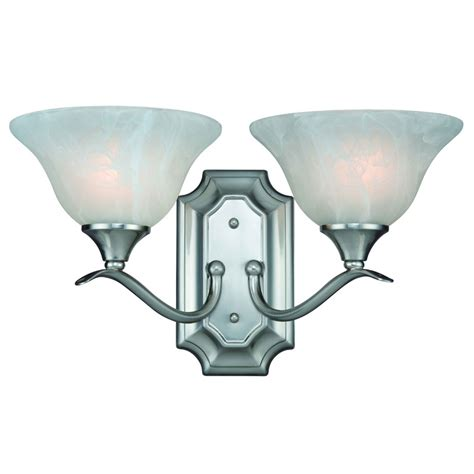 satin nickel bathroom light fixtures 2 light wall sconce bathroom fixture 10 4692 satin nickel