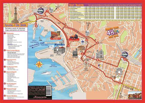 map of genoa italy genoa hop on hop tour