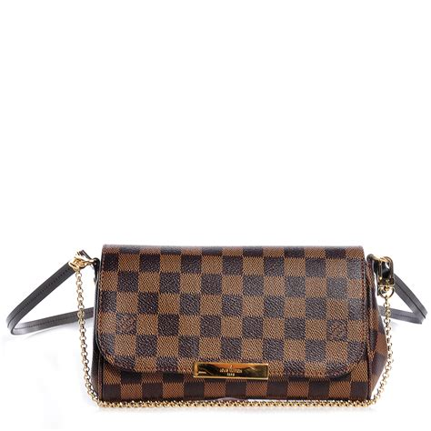 Lv Favorite Pm Ebene louis vuitton damier ebene favorite pm 72239