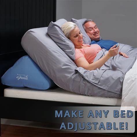 Mattress Genie by Mattress Genie Adjustable Bed Wedge Lift