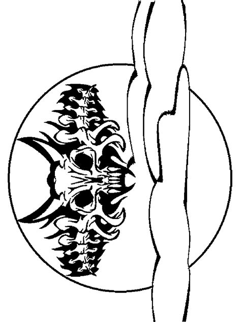 coloring pages halloween skulls pictures of halloween skeletons cliparts co