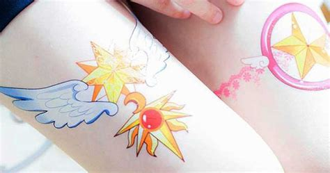 cardcaptor sakura temporary tattoos shut up and take my yen