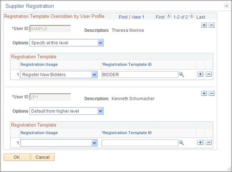 distributor profile template setting up the registration system