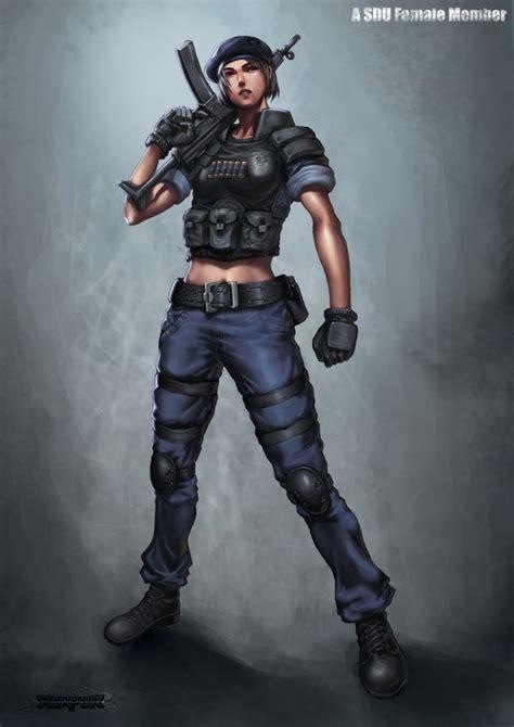 military female sdu agent by reaper78deviantartcom