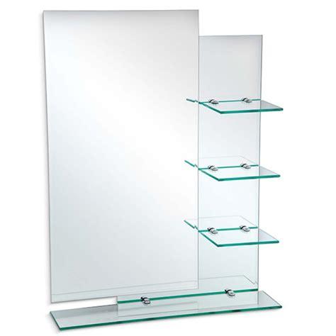 decoracion con espejos y repisas espejo 50 cm x 70 cm 4 repisas vidrio easy colombia