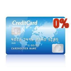 0 interest credit cards