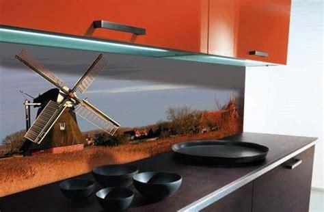 digital backsplash colorful glass backsplash ideas adding digital prints to