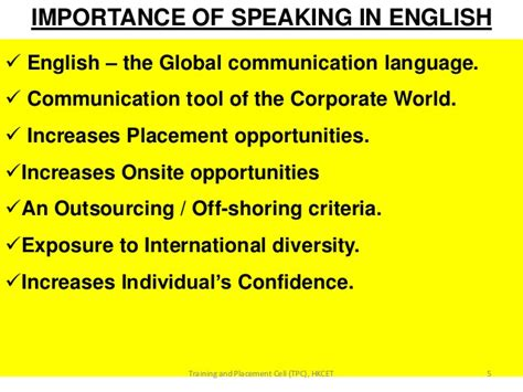biography of english language soft skills and interview presentation to students approved