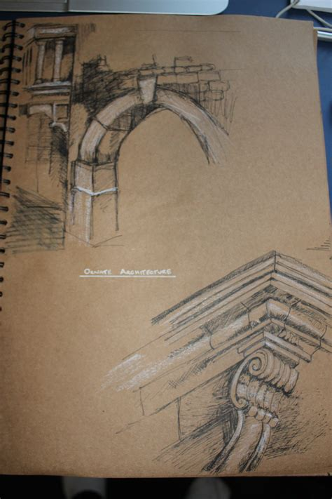 decorative sketches architecture and design influenced by nature in early 20th century books skinner s gcse sketchbook inspired by ian murphy