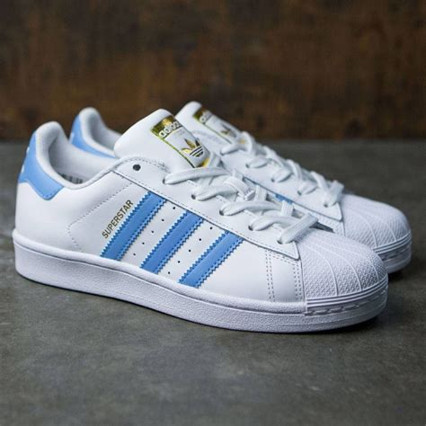 adidas superstar light blue adidas superstar light blue white