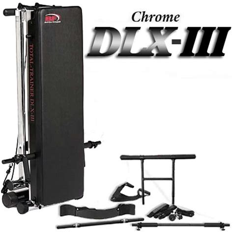 bayou fitness total trainer dlx iii home 846291000882
