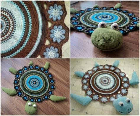 crochet owl rug pattern free the diy crochet sea turtle rug with free pattern the diy