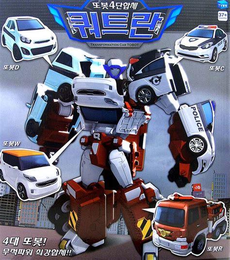 Tobot Quatran Quadrant tobot quadrant 4 car coplymers transformers transformation robots children ebay