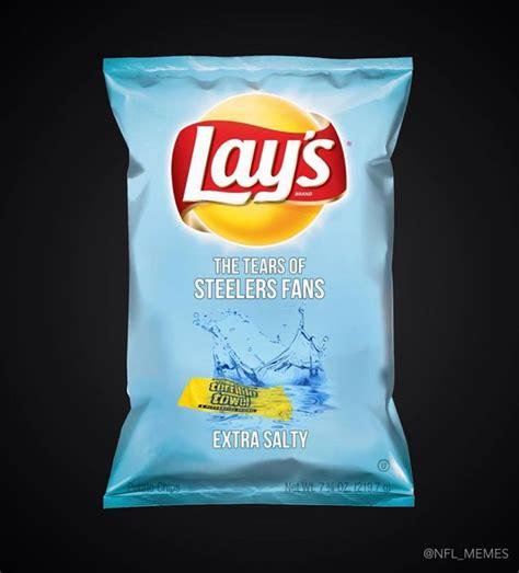 Lays Chips Meme - 22 meme internet lay s the tears of steelers fans