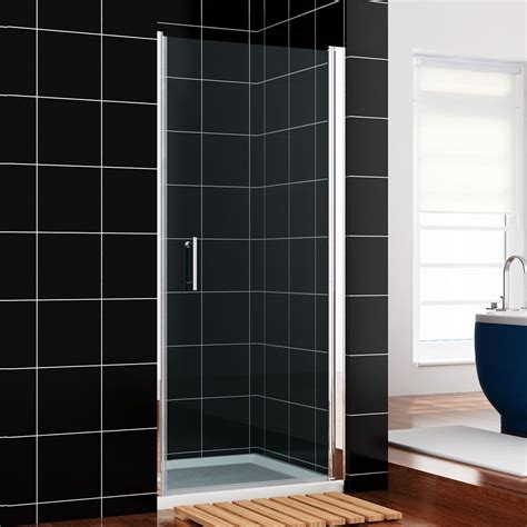 Hinged Shower Doors Uk Crown 760mm Frameless Hinged Shower Door