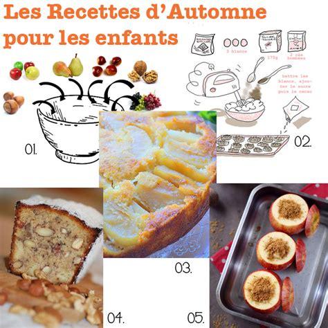 cuisine enfant recette cuisine des recettes de cuisine d automne pour les
