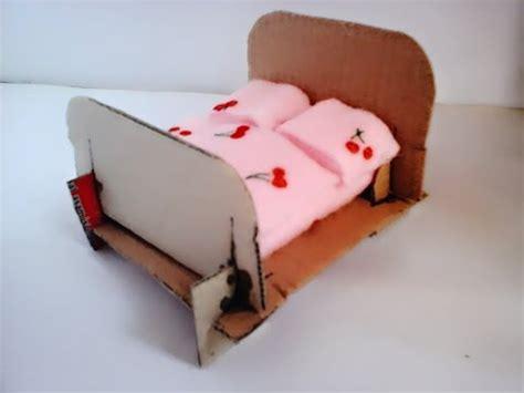 Lu Tidur membuat lu tidur dari kardus cara mudah membuat miniatur tempat tidur dari kardus bekas