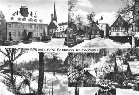 historische aufnahmen von mülsen st. niclas
