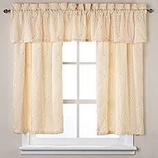 wellington curtains wellington window curtain tier pair and valance in yellow