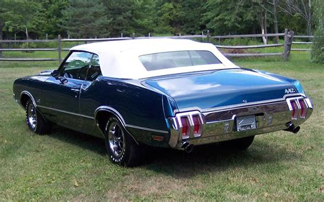 1970 OLDSMOBILE 442 CONVERTIBLE   66110