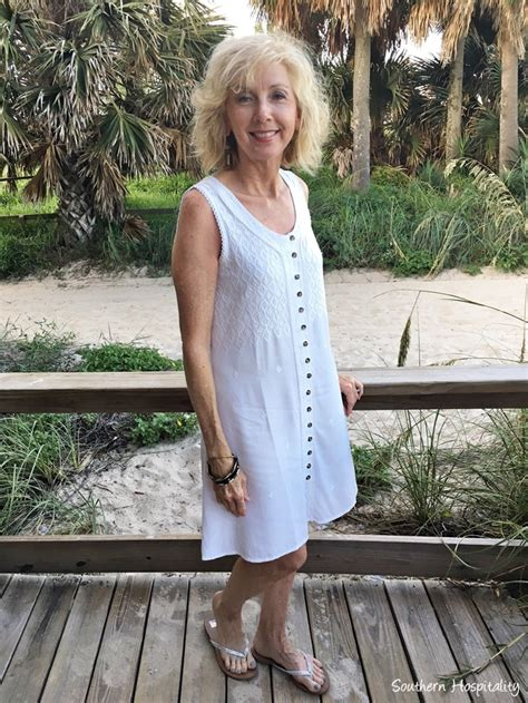 put together wardrobe for women over 50 fashion over 50 beach casual southern hospitality