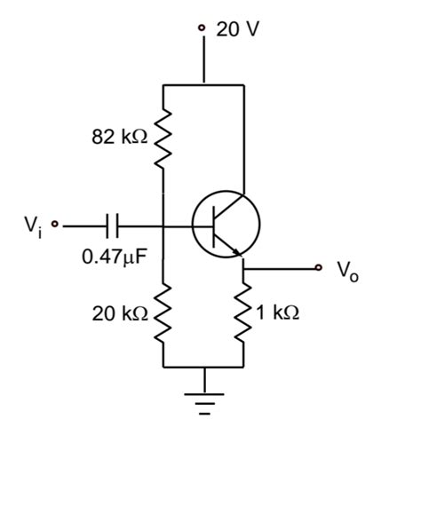 transistor lifier equivalent circuit finding ac equivalent circuit of a bjt lifier electrical engineering stack exchange