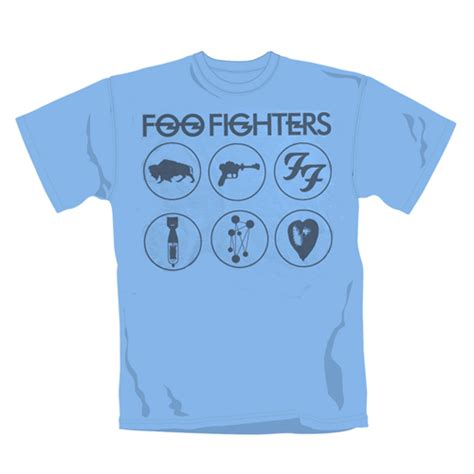 T Shirt Foo Fighters 2 foo fighters t shirt for only 163 18 68 at merchandisingplaza uk